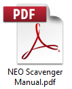 PDF Manual for NEO Scavenger
